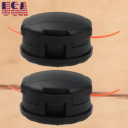 2x Trimmer Head For Echo Pas-225 Srm-225 Srm-230 Speed-feed 400 String Trimmer