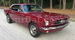Ford Mustang I Cabriolet Red Indoor Fabric Car Cover W/ Pony Emblem 1964-67 New