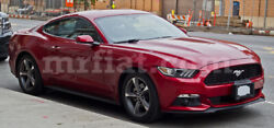 Ford Mustang Vi Red Indoor Fabric Car Cover 2014-19 New