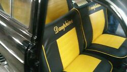 Renault Dauphine Seat Upholstery And Door Panel Kit. Replacement
