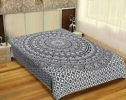 Bohemian Wall Hanging Indian Home Decor Bedspread Queen Mandala Queen Tapestry