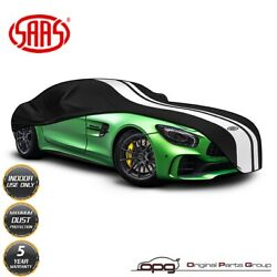 Saas Car Cover Indoor For Datsun 240z 260z 280z Non-scratch Soft Lined Black