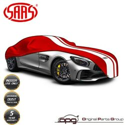 Saas Car Cover Indoor For Datsun 240z 260z 280z Non-scratch Soft Lined Red