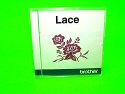 Rare Euc Brother Lace Embroidery Card Baby Lock Bernina Flowers Xc1708-001