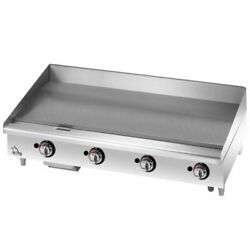 Star 648tf Quick-ship Star-max Heavy Duty Griddle Gas Countertop