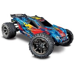 Traxxas Rustler 4x4 Vxl Brushless Ready To Run 110th - Red - 39-670769-4red