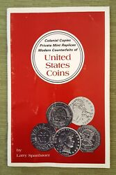 Colonial Copies Private Mint Raplicas Modern Counterfeits Of Us Coins Book