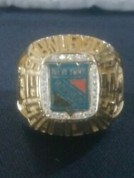 Rangers Stanley Cup Championship Nhl Ring Balfour
