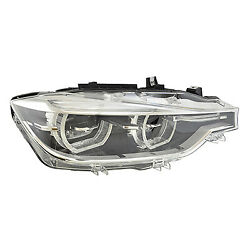 Replacement Headlight For Bmw Passenger Side Bm2503188