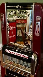 Vintage  National Cigarette Machine Restored Beautiful!!! Rare 7 Pull