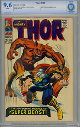 Thor 135 Cgc Cbcs 9.6 White Pages - 2nd High Evolutionary
