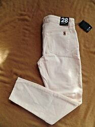 New Joeand039s Skinny Ankle Jeans Size 28 And039porcelainand039