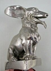 ONE OF A KIND Hood ORNAMENT MASCOT Dog CARDEILHAC PARIS Corgi Dachshund Terrier
