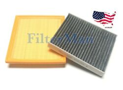 Engine And Carbonized Cabin Air Filter For Impreza Crosstrek Ascent Us Seller