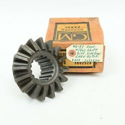 46-51 Chevy Gmc 7000 Lb Axle 2-spd Differential Side Spider Gear Gm 3682526 Nos