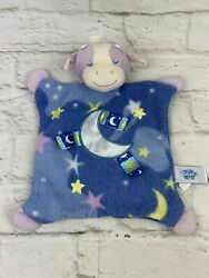 Taggies Cow Security Blanket Lovey Hey Diddle Diddle Over The Moon Nursery Rhyme