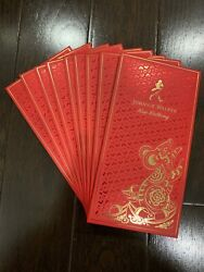 New Johnnie Walker Red Money Lucky Envelopes - 10 Pack - Chinese Lunar New Year