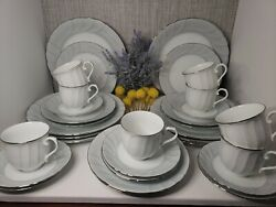Prelude By Mikasa Fine China - 4 Piece Place Setting Service For 8 32 Piece Lot