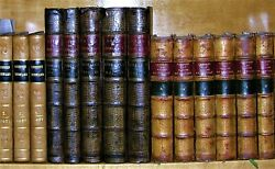 Charles I Of England, Life And Reign, D'isreali, 1828-31 ,5 Volume Set, Leather