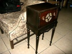 Bosch Console Deco Chairside Tabletop Antique Radio Not Cathedral