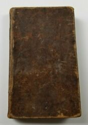 Catechism Of The Bible / Menzies Rayner 1818 - Leather Bound Book - Rare