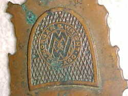 Pre 1900 Morgan And Wright Watch Fob - Worlds 1 Bicycle Tire Maker - Chicago