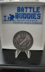 20th Special Forces Group Airborne Green Berets Serial 3902 Army Challenge Coin
