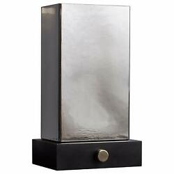 15 Modern Table Desk Lamp Light Glass Smoked Shade Living Bed Room Night Stand