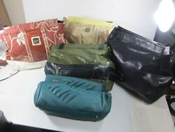 Miche Clutch Handbags Lot of 5 Assorted 4 15quot; x 12quot; 1 14quot; x 7quot; Asst. Colors $24.99