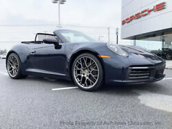 2020 Porsche 911 Carrera Cabriolet Carrera Cabriolet New 2 dr Convertible Automatic Gasoline 3.0L FLAT 6 Cyl  Night