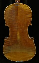 4/4 Full Size Antique Old German Hopf Violin-listen To The Video-