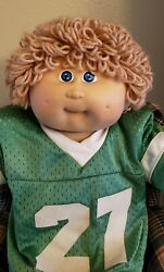 Vintage Collectible Cabbage Patch Kid Doll Xavier Roberts Signed, Coleco 3rd Ed.
