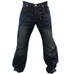 Crown Holder Century Blue Color Jeans Ry50725 Size 40, 42 And 44