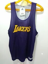 Russell Athletic Lakers And Denny's Purple Reverse Jersey Signed 30 Julius Randle