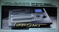 Roland Vs-2480 Turbostart Dvd -the Ultimate How To Guide For Your Vs