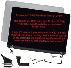 New Original Oem 2015 Macbook Pro 13 A1502 Lcd Display Assembly 661-02360