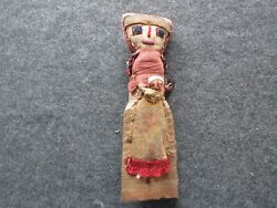 11 Vintage Peruvian Doll, Hand Made Old Cloth Doll From Peru, Ott-102003423