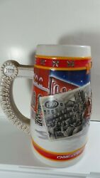 BUDWEISER BEER STEIN 1900- 1999  A CENTURY OF HOLIDAY TRADITION .