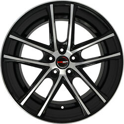 4 Gwg Zero 22 Inch Black Machined Rims Fits Chrysler Pacifica Limited 2017-2020