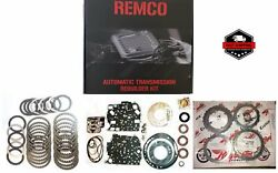 62TE 07 UP TRANSMISSION MASTER KIT WITH OVERHAULT KIT CLUTCHES AND STEELS W OU $238.55