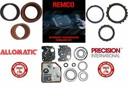 TH350 68 UP TRANSMISSION MASTER KIT WITH OVERHAULT KIT CLUTCHES AND STEELS W O $87.91
