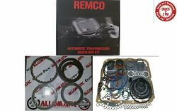GM 700R4 82 92 TRANSMISSION MASTER KIT WITH OVERHAULT KIT CLUTCHES AND STEELS $80.82