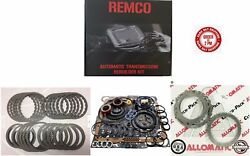 4L60E 93 03 TRANSMISSION MASTER KIT WITH OVERHAULT KIT CLUTCHES AND STEELS W O $106.56