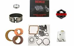 TH180 89 UP TRANSMISSION REBUILT KIT WITH OVERHAULT KIT CLUTCHES AND FILTER $98.09