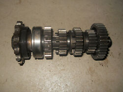 1969 Kawasaki A7ss Avenger 350 - Transmission Output Shaft With Gears