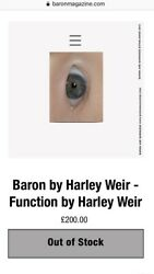 Baron Magazine By Harley Weir - Function Fifth 5 Helmut Lang Ad Rare