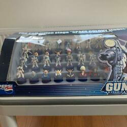 Gundam Pepsi Bottle Cap Full Complete Set Box Collection Stage Space Colony Rare