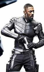 Hobbs And Shaw Leather Jacket For Men Genuine Lambskin Motorcycle Biker Style