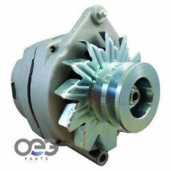New Alternator For Chevy And Tractors 10si 1-wire One Wire With 2 Groove Pulley 63