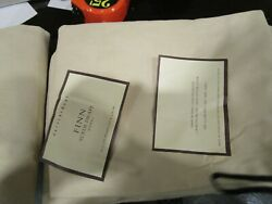 2 Pottery Barn Finn Suede Drapes Panels 50 X 124 Almond Color Marks See